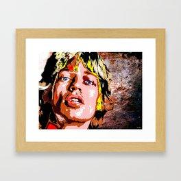 Mick J. Framed Art Print