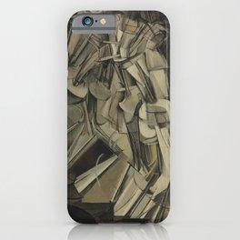 Marcel Duchamp's Nude Descending a Staircase, No. 2 iPhone Case