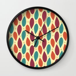 When the leaves come falling down Wall Clock