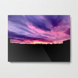 Purple Sunrise Metal Print