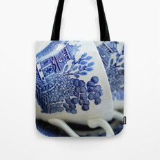 blue willow Tote Bag