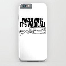 Wazer Wifle Poster iPhone 6s Slim Case
