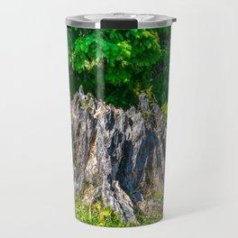 Tree Stump Travel Mug