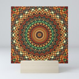 Native Soul Mandala 2 Mini Art Print