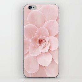 Blush Succulent iPhone Skin
