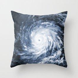 Hurricane Igor Throw Pillow