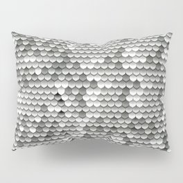Medieval Fantasy | Metal scales Pillow Sham