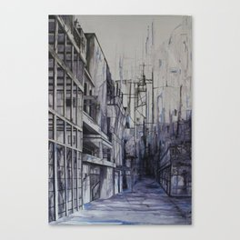 Invisible city Canvas Print