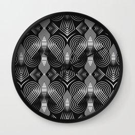 Art Deco. Diva 27 . Wall Clock