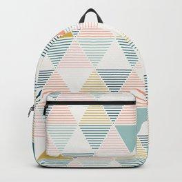 Modern Geometric Backpack