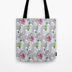 Cute disaster pattern Tote Bag