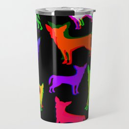 Chihuahua Pattern Travel Mug