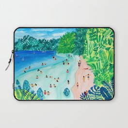 Glassy Island Laptop Sleeve