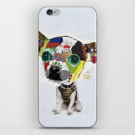 Chihuahua Colorful Dog POP Art Collage iPhone Skin