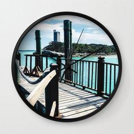 Decking Wall Clock