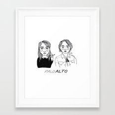Palo Alto Framed Art Print