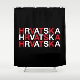 CROATIA Shower Curtain