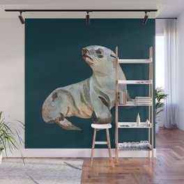Fur seal Wall Mural