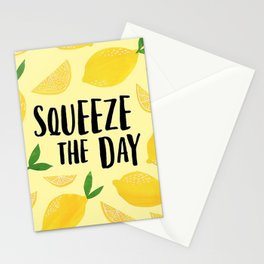 Squeeze the Day Pattern Stationery Cards