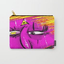 The Face of Madness Love Carry-All Pouch