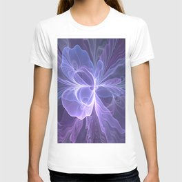 Abstract Art, Purple Fantasy Fractal T-shirt
