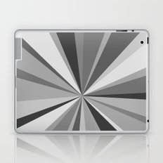 Monochrome Starburst Laptop & iPad Skin
