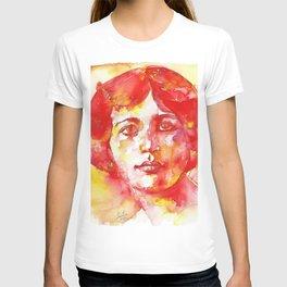SIMONE WEIL - watercolor portrait T-shirt