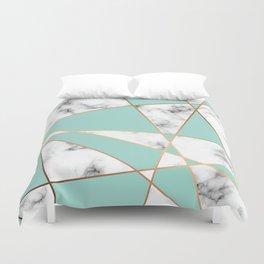 Marble Geometry 055 Duvet Cover