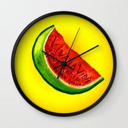 frida kahlo viva la vida Wall Clock