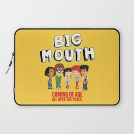 Big Mouth Puberty Laptop Sleeve