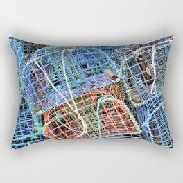 Lobster pots Rectangular Pillow