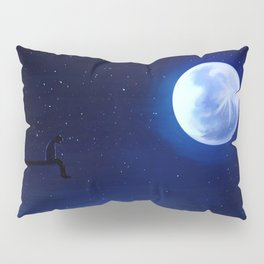 Jimin Serendipity Talking to the Moon Pillow Sham