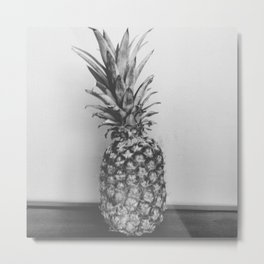 FORGIVEN FRUIT (B&W) Metal Print