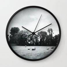 hay Wall Clock
