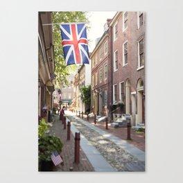 Elfreth's Alley - Old City Philadelphia Canvas Print