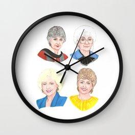 The Golden Girls Wall Clock
