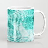 tie dye Mugs featuring Tie Dye  by Jenna Davis Designs