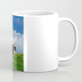 Amish farmer plowing Coffee Mug