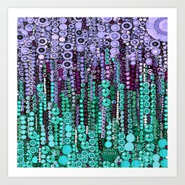 :: Lavendar Sleep :: Art Print