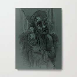 I Miss You Alison Metal Print