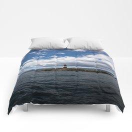 Lighthouse_Ushuaia #2 Comforters