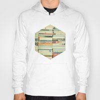 home Hoodies featuring Bookworm by Cassia Beck