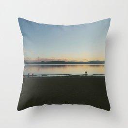 Kings beach, Lake Tahoe, California  Throw Pillow