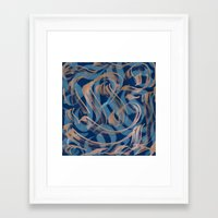the strokes Framed Art Prints featuring Strokes by Roberlan Borges