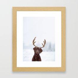 White wonder Framed Art Print