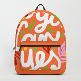 Yes You Can #motivational Backpack