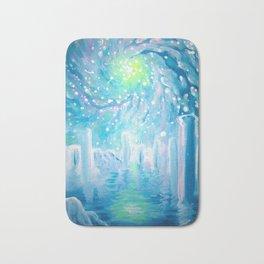 dreamscape with galaxy Bath Mat