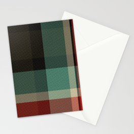 Christmas Plaid 8A Stationery Cards
