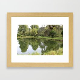 Appropriate seating Framed Art Print
