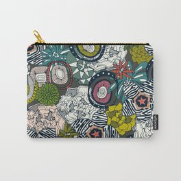 succulents multi dark Carry-All Pouch
